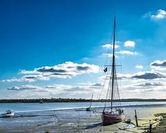 Beached (Just landscapes) Tags: yaught boats sailing water mud scenery scenic coast sea river blackwaterestuary blackwater england uk estuary
