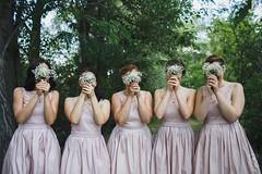 Smile (edlszilvia) Tags: bridesmaid flowers wedding marry funny