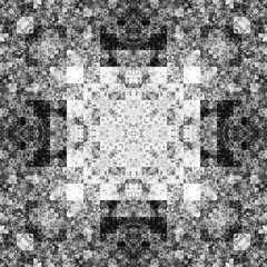 1326167974 (michaelpeditto) Tags: art symmetry carpet tile design geometry computer generated black white pattern