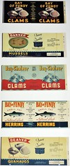 (Will S.) Tags: labels clams quahogs mussels seafood vintage canadascienceandtechnologymuseum ottawa ontario canada mypics herring fish