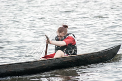 Oblas-49 (Polina K Petrenko) Tags: river boat khanty localpeople nation nationalsport nature siberia surgut tradition traditionalsport