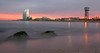 Barcelona sunset (gemmagrau) Tags: barcelona light barceloneta beach w hotel sunset water