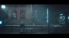 (John Drossos) Tags: streetphotography streetcandid street night nightshot nightphotography city citysnap cinemascope cinematic