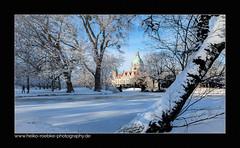 Neues Rathaus Hannover (H. Roebke) Tags: canon7dmkii schnee de architektur winter stadtansicht city architecture cityview hannover stadt neuesrathaus 2016 canon1635mmf28lisii lightroom snow