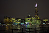 Looking towards the Shard (Matt C68) Tags: river thames london city skyline night shard buildings lights water