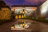 Zitadelle Petersburg (CraigWThomson) Tags: city citadel fort fortress night reflection reflections water sky slouds castle palace building architecture arches arch bridge wall erfurt germany