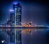 The Rotterdam reflection (Robert Stienstra Photography) Tags: rotterdam skyline reflections reflection reflecting bluehour bluehourphotography longexposure longexposurephotography longexpo slowshutter cityscape cityscapes cityphotography nightscapes nightshots nightscape nightphotography nightscene waterscape waterscapes waterfront bigcity atnight robertstienstraphotography nikond7100 tamron18200mm outdoor water mist river riverscape