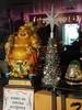 East meets West (Trader Chris) Tags: christmas buddah