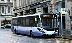 67078 SN65ZFT First Glasgow (busmanscotland) Tags: 67078 sn65zft first glasgow sn65 zft ad adl alexander dennis e20d enviro 200 200mmc