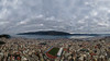 Ioannina city center (Akis TzeStarr) Tags: sky landscape lake water city ioannina greece dji mavicpro platinum mountain stadium clouds haze fog cold