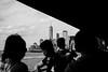 Staten Island Ferry (Alexander Pellegrin) Tags: statenislandferry newyork newyorkcity nyc newyorkcitylife blackwhite blackwhitephotography blackandwhitephotography blackandwhite photo photography photographeronflickr photographer alexanderpellegrin freedomtower manhattan fuji fujixe2s fujifilm 27mm wide biancoenero monocrome monocromo