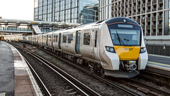 700137 (JOHN BRACE) Tags: 2014 siemens krefeld germany built desiro city class 700 emu 700137 seen east croydon thameslink livery