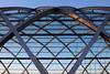 Criss-cross (Elbmaedchen) Tags: elbbrücken bahnhof u4 architektur architecture bögen gitter stahlkonstruktion modern station underground
