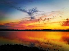 Reflections of a cold sunrise at the lake! (Edale614) Tags: alumcreek sunrise statepark columbus ohio colorful colorfest reflection nature naturelovers lake lakeside