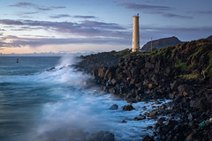 Island Vibez (Dancing.With.Wolves) Tags: lighthouse love water ocean sea crash waves lonely transcendental island shore sunrise sunset hawaii harbor ship boat darkness light rocks journey sail sailboat surf swell long exposure sony a6000 sigma 30mm vacation travel
