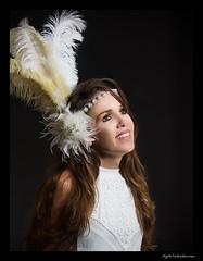 Goddess Collective - Mountain Springs (madmarv00) Tags: d600 goddesscollective lasvegas nevada nikon girls kylenishiokacom models women feathers studio portrait wonderhussy brunette twt