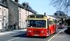 Hulley, Baslow: RKA955G in Church Lane, Baslow (Mega Anorak) Tags: bus leyland panther psur1a1r mcw hulleybaslow liverpoolcorporation
