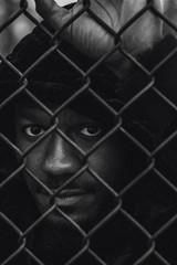 TrusT_030 (myster.vee) Tags: blue music artist hip hop rap portrait