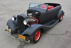 "1933 Chevrolet ""Hot Rod"" (Custom_Cab) Tags: 1933 chevrolet chevy hot rod street custom phaeton 2door 2 door convertible black car master six 6"