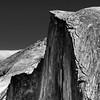 Half Dome Detail (Doug Santo) Tags: halfdome yosemitenationalpark landscapephotography blackandwhite