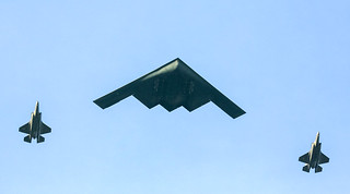 B-2 Stealth Bomber Flyover 1.1.18 2