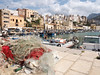 Castellamare del Golfo (LYSVIK PHOTOS) Tags: sunny skywithclouds traveldestinations sicily italy colorimage boats fishingboat travel fishingnets day horizontal outdoors photographyimage harbor tourism summer italianculture boat water sky