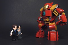 Our Baby Veronica (-Metarix-) Tags: lego super hero minifig marvel iron man hulk hulkbuster veronica tony stark bruce banner avengers age ultron