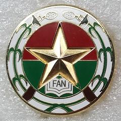 Burkina Faso Armed Forces (Sin_15) Tags: burkina faso armed forces army navy air force airforce military cap beret badge hat insignia