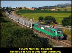 idn6816 (ribot85) Tags: bitrac 601003 601 tren trenes trains train railways railroad portaautos portacoches comsa santander renedo caf