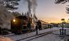 Twilight in Sheepscot (kdmadore) Tags: wwf victorianchristmas maine 2foot railroad steamlocomotive train alna wwfry steam christmas wiscasset narrowgauge