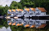 fjord reflections II [EXPLORED] (wirsindfrei) Tags: explore inexplore explored reflection reflections spiegelung fjord norway norwegen nikon nikond5300 water sea architecture europe 50mm boat building