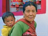 2015-03b Doubling Down on Doubles 2017 (08) (Matt Hahnewald) Tags: matthahnewaldphotography facingtheworld head face eyes childrenseyes facialexpression eyecontact consent emotion respect parentalconsent travel culture lifestyle ethnic arunachalpradesh grandmother child tawang northeastindia india asia asian indian monpa twopeople female adult toddler elderly woman image picture photo illustrativeeditorial faceperception physiognomy relationship nikond3100 nikkorafs50mmf18g primelens 50mm niftyfifty 4x3 horizontal street portrait doubleportrait closeup headshot fullfaceview outdoor posing authentic carryingonback shutterstock babysling grandchild wrinkles rapport childhood