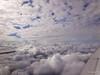 Luftbild (4Z355YSDL73LM4UXCWCGORKD2S) Tags: zwischendenwolken luftbild clouds betweentheclouds vonoben sky