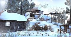Catch a winter break (Alexa Maravilla/Spunknbrains) Tags: daddesigns serenitystyle shinyshabby kustom9 pocketgacha tmcretaion treschic happymood studioskye soy secondlife snow winter skiing lodge