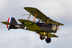 SE5a (Bernie Condon) Tags: royalaircraftfactory se5a scout fighter military warplane ww1 rfc royalflyingcorps raf royalairforce vintage classic preserved uk british shuttleworth collection oldwarden airfield airshow display aviation aircraft plane flying