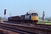 Unfitted (?) Freight (D1059) Tags: class25 rat southboundfreight unfitted brakevan trentjunction mml britishrail