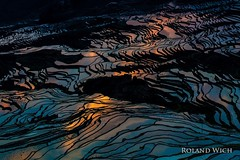 Yuanyang - Rice Terraces (Rolandito.) Tags: asia china yuanyang rice terrace terraces color colurs reflection colorful