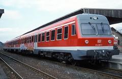 614 025  Goslar  03.04.04 (w. + h. brutzer) Tags: goslar eisenbahn eisenbahnen train trains railway deutschland germany triebwagen triebzug triebzüge zug vt 614 db webru analog nikon