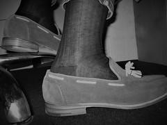 Italian socks and suede loafers (Sockbud) Tags: socks italian suede tassel loafers
