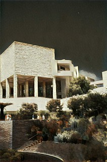 Los Angeles California  ~  The J. Paul Getty Museum ~ Brentwoood