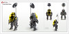 Raptor series: Classic Space Comms (Brixnspace) Tags: raptor walker frame powersuit suit lego moc toy biped space bot cs classic spacesuit explore exploration
