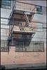 Fire escape (ADMurr) Tags: la eastside adams fire escape lames pink gray windows leica m5 kodak ektar 50mm summicron cbc709edit 2016