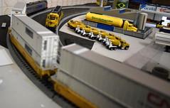 8 - Kato Ho - Locomotiva Ge P42 Amtrak - #156 + Locomotiva Sd45 Santa Fé-021 (Diecasts Collectors Brasil) Tags: kato ho locomotiva ge p42 amtrak 156 sd45 santa fé gunderson maxiiv ttx new logo 765122 contêineres cn 53 emp