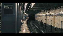 Waiting (Nico Geerlings) Tags: subway station manhattan chinatown eastbroadway ngimages nicogeerlings nicogeerlingsphotography nyc ny usa newyorkcity cinematic cinematography