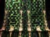 Curved Potter Ceramics (unclebobjim) Tags: ceramic tiles scrolls gold wall tunnel pattern set photoscapex dehaze