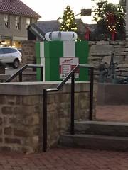 FB - Dawn Lawrence Adams (Dublin, Ohio, USA) Tags: dublinishome social media campaign holidays christmas gift box historic dublin downtown coffman park recreation center