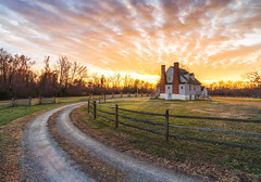 Watt House Sunset (Michael Chronister) Tags: rva richmond virginia gainesmill richmondbattlefield sunset explore exploration