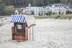 Ostseestrand in Binz (neuhold.photography) Tags: binz erholung ostsee reise rgen sand strand strandkorb tourismus urlaub