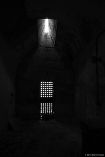 Let there be light, but not enough...Prison Cell ©2017 Steven Karp
