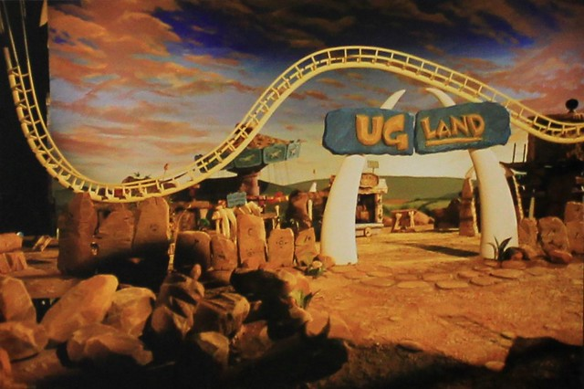 Ug Land Ad Model Entrance and Corkscrew